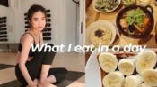 【Haruka kuriyama】日本女生/我一天吃什么//星巴克香蕉麦片酸奶/日本定食/烤吐司/饮食vlog