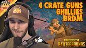 [转载/chocoTaco官方剪辑]4 Crate Guns, Ghillies, and a BRDM ft. chun - chocoTaco PUBG