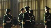 安阳师范学院国旗班元旦晚会枪操表演彩排。