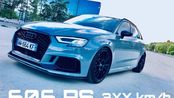 POV-Style: Highspeed im HGP Audi RS3 Sportback 606 PS   inkl. 0-100 km/h 0-200
