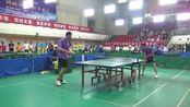 甄智勇VS桂继华 2017年南昌市滕王阁奋发集团杯乒乓球俱乐部公开赛 1-16赛