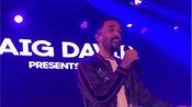 2019.11.12Craig David英国ITV电视台Palooza年度展示会派对演出现场片段
