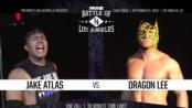 【年度比赛】PWG Battle Of Los Angeles 2019-第3日 Jake Atlas vs. Dragon Lee (WON:4.5*)