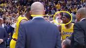 NBA湖人战术大师VS头脑领袖,詹皇和他当众争吵,湖人连胜被终结