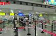 成都双流国际机场 国庆当天出行旅客人数不多