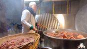 清真百年老店,凌晨3点煮400斤牛肉,老板说牛肉发到全国各地!