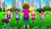 Song 206 听歌学英语系列 | 在家也是幼儿园 Head, Shoulders,Knees&Toes 头,肩膀,膝盖和脚指头 | jump 跳