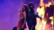 Rihanna & Drake - What's My Name Live (GRAMMYs 2011) - 720p 软中英字幕