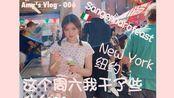 Amy's Vlog- 这个周六我做了什么/ 2019.9.21/ 纽约/ #Sangennarofeast /意大利美食节/ 中国城/ 吃刨冰!