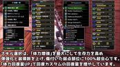 【MHWI】日本大佬tatsuffy-通常弹3重弩配装及冰咒龙战斗演示【2分台讨伐,一发伤害300+】
