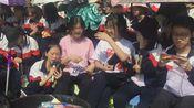 辽西育明高级中学运动会高二八班