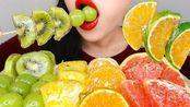 ☆ Hongyu ☆ 西柚糖葫芦、蜜桔糖葫芦、菠萝糖葫芦、葡萄糖葫芦、猕猴桃糖葫芦 食音咀嚼音(新)