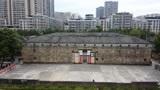 广东梅州泰安楼,雄伟霸气坚如碉堡,全国罕见的石方楼