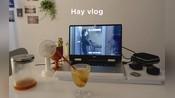 【hay】韩国女生的日常生活VLOG/看喜欢的视频/巧克力蛋糕/马卡龙/咖啡/治愈的生活