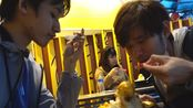 【台湾旅游第一天】 两个大男人睡一张床,共享芒果冰,还有什么事是还没干的