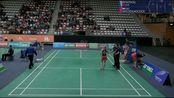 2019 荷兰羽毛球公开赛 8强赛 混双 任翔宇/周超敏 vs 克里斯·爱德考克/加布里·爱德考克