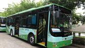 南平公交车在福建林业职业技术学院江南校区出站欣赏