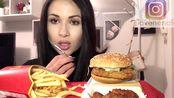 【搬运】吃麦当劳(咀嚼音+轻微人声)