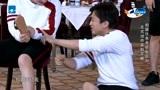 邓超、王祖蓝、郑恺玩拍腿游戏,三个人大叫超搞笑,祖蓝被打出血包?
