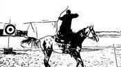 【骑射】满族骑射手嘎力巴图De训练与参赛往日集锦2