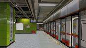 openbve--广州地铁3号线体育西路--机场北(TYXL-JCB)B2列车