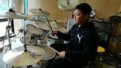 齐齐哈尔架子鼓原来还能这么敲 鼎音艺术学校 学员于澳演奏视频