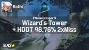 Mathi | Loki - Wizard's Tower [Walao's Expert] + HD,DT 98.76% 2 728pp | #1 (HD)