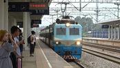 [火车][穿越正线]SS8+25Z石门-长沙[T8335]石长宁乡站