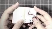 【手作】用恐怖片的方式打开小本子的制作过程吧!