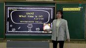 [0224]四年级英语(人教版)《Unit 2 What time is it? A Let's talk》-邹璐[赣州市厚德外国语学校]   赣教云