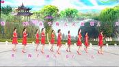 燕子青春姐妹广场舞原创《最后一次温柔》正反面团队版制作:燕子