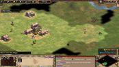 帝国时代2决定版2v2线上比赛 TheViper/Daut VS TaToh/Yo Land madness 第7场