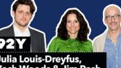 Julia Louis-Dreyfus, Zach Woods & Jim Rash with Bruce Fretts: Downhill