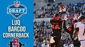NCAAF参加2020年NFL选秀球员介绍系列(35)Luqman Barcoo(角卫 圣迭戈州立大学)