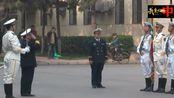 解放军海军仪仗队高规格仪仗礼,气势太震撼了!