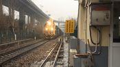 ND5 0371+ND5 0196双机货列(12:59)ND5 0371单机中华门折返回宁东(13:37)