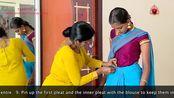 【印度古典舞】科普向—婆罗多舞的衣服、妆发怎么弄?