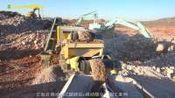 云南省 移动锤式破碎站+移动筛分站施工案例