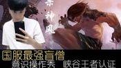 【国服最强系列04】意识+操作瞎,巅峰峡谷认证中...