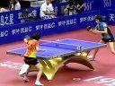 乒超联赛;辽宁省大连女队---对---广州女队视频剪辑