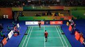 2019重庆国际羽毛球公开赛男单决赛——卢高旺VS萨兰·贾姆斯里(泰)