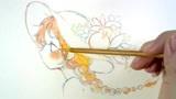 日本漫画家的创作视频,用彩铅画底稿,效果真的很不错呢