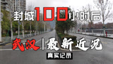 武汉最新近况,封城100小时后,东湖绿道,梨园街区记录