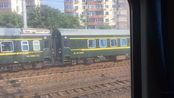 T397次九江站开出 过了铁路新村会晚点的K88次