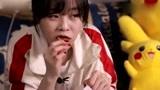 大胃王mini大口的吃辣片,吃完不会肚子痛吗