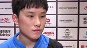德国公开赛,张本智和2-4梁靖崑淘汰出局,赛后受访罕见认怂