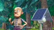 熊出没之夏日连连看,光头强的大功率电扇,是真的大(1)
