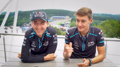 Grill the Grid 2019 - Williams's Robert Kubica & George Russell (库比卡&拉塞尔)