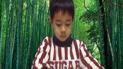 广东肇庆四岁小玮跟读《笠翁对韵》(二冬)