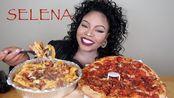 【que】意大利香肠培根披萨,上等牛排,炸土豆条!!!(2019年10月24日5时0分)